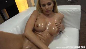 Girl masturbating on camera